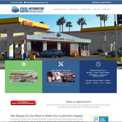 Plaza Automotive | San Pedro Business looking for a higher profile
