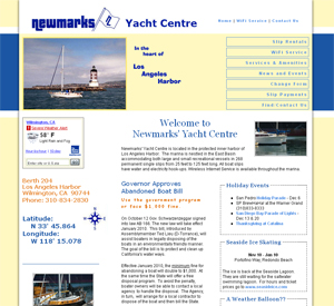 Newmarks' Yacht Centre old version