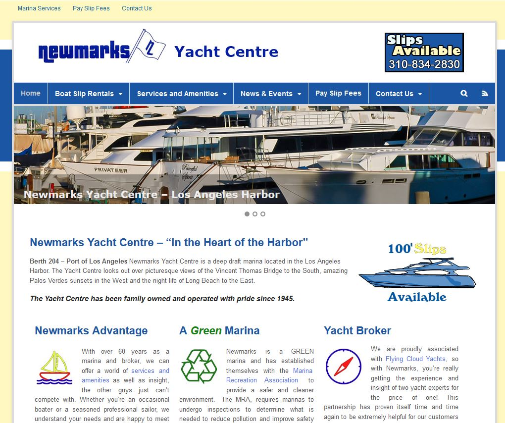 Newmarks Yacht Centre screenshot