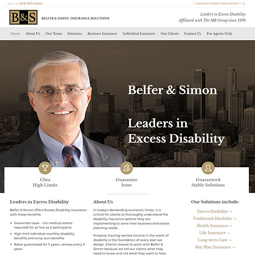 New Look for Simon Belfer